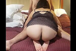 Ass out sucking daddy's cock