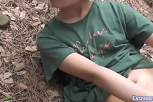 Chịch em gái trong rừng