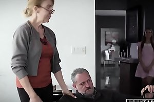 PURE TABOO Delinquent Teens Corrupted by Pervert Step-Grandpa