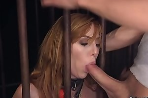 Busty submissive babe anal bdsm banged