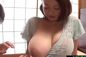 Busty japanese cheating wife groped and drilled hard - what?s her name?