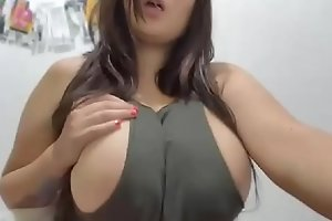 Are her BigTits Real? Find out. Watch her Cam - Part II
