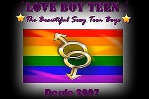 Logomarca Love Boy Teen