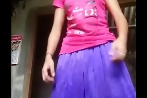 Desi girl showing all