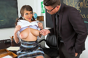 Teachers Assistant Gets Fucked