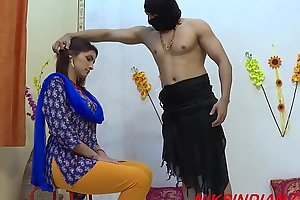 Rough sex with indian housewife in the ashram