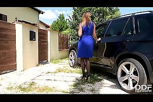 Luxury Foot Fetish sluts Anissa Kate &_ Ani Blackfox Fuck Outdoors