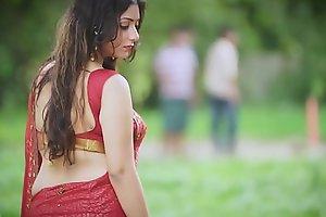 Hot Bhabhi in Saree showing stuff - Episode 1