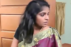 Sleeping Indian Aunty Romance with Thief ( 270p )