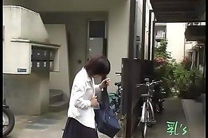 Jade Nyu - NMBD-01 - Schoolgirls Rip Blouse Expose Bra