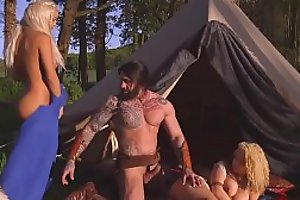 Brazzers - Storm Of Kings XXX Parody Part 2 Aruba Jasmine _and _Peta Jensen _and _Ro