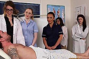 Cfnm nurses cocksucking patients ramrod