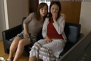 LesbianCums.com: Korean Stepmom Seduced Off out of one's mind Inverted Teen