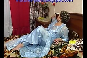 Russian chubby aged receive anal
