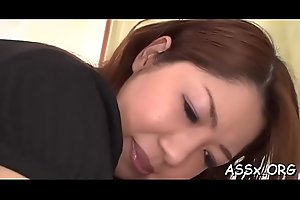Sweet oriental enjoys wild bang with loads of anal riding