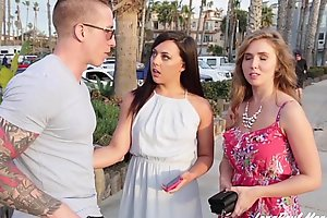 Lena Paul And Whitney Wright Share Boyfriend Nathan Red'_s Cock