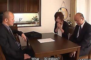 Slut creampied since her hubby lost 30 million on gambling